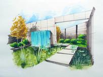 现代风格庭院