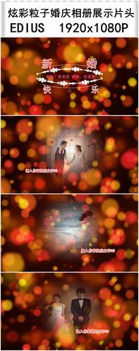 EDIUS婚庆相册展示视频模板