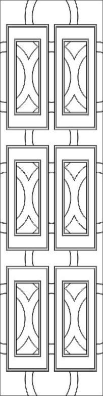 窗格雕刻图案