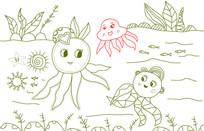 海底世界插画