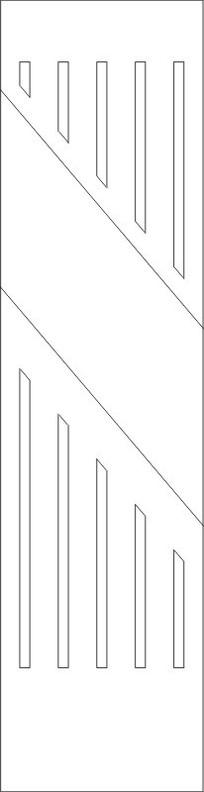 镂空线条雕刻图案