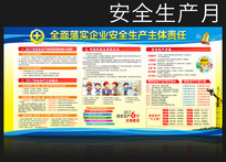 施工单位安全月宣传栏