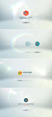 6组大气logo开场片头模板
