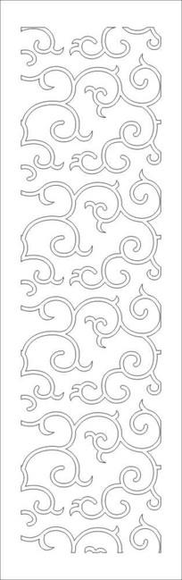 花纹图雕刻图案
