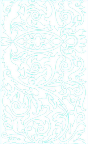 美式田园淡雅花朵花纹墙纸 欧式美式床cad 下载 整木法式美式护墙板图片