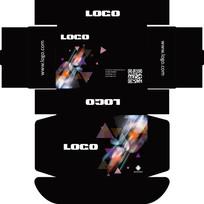 平板彩盒包装设计