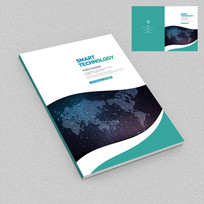 全球科技对外贸易宣传册封面