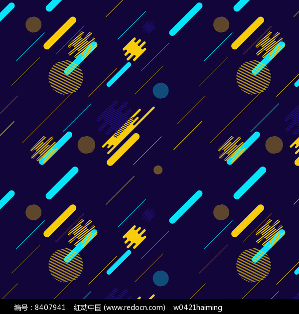 扁平几何网页banner元素素材图片