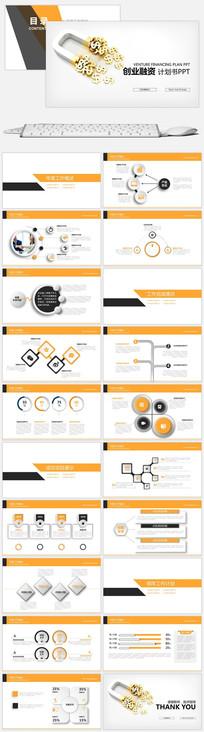 创业融资商业计划书PPT