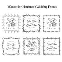 婚礼花边边框图案素材