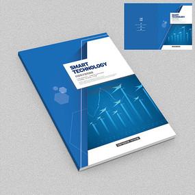 商务数据分析电子画册封面