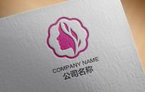 现代简约美容化妆品logo AI