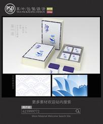 安吉白茶高档礼盒包装设计