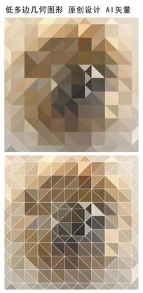 抽象图案矢量立体背景