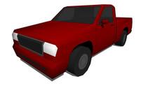 大型常规出租车卡车su模型