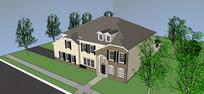 独栋住宅模型