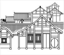 房屋雕刻图案