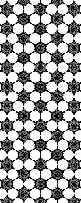 蜂窝状排列花纹图案