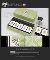 高档安吉白茶礼盒包装设计 PSD