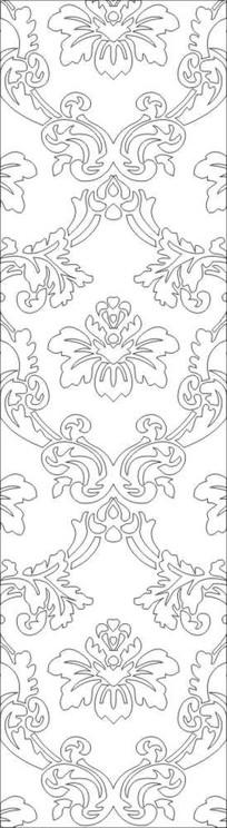 花纹欧式花雕刻图案
