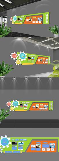 企业文化形象墙设计