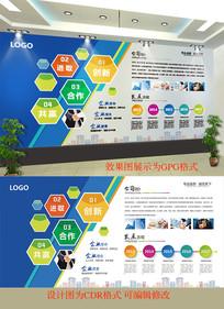 企业文化宣传背景墙