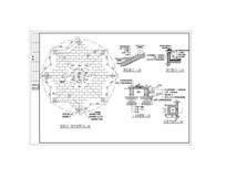 小广场CAD平面图及局部详图 dwg