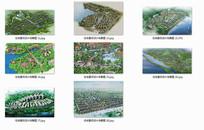 住宅景观设计鸟瞰图