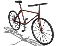 自行车SU模型