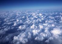 高空俯视白云 JPG