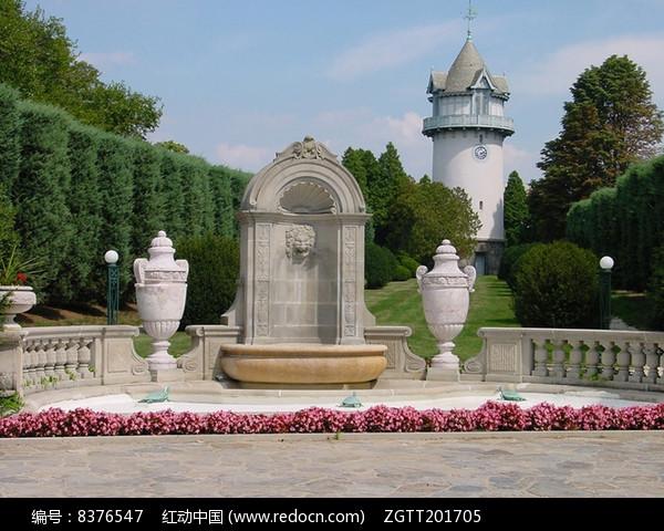 欧式公园景观图片