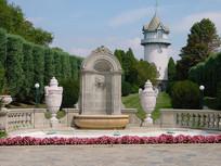 欧式公园景观