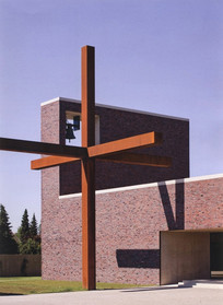 现代教堂景观建筑