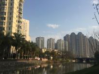 小区护岸水景