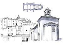 城堡手绘图