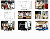 学生活动室和宿舍景观 JPG