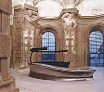 博物馆内部浮雕景观 JPG
