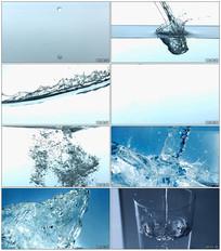 纯净水广告视频素材