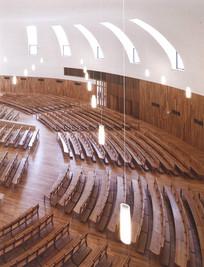 大型教堂室内空间