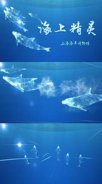 海洋水族馆活动推广AE视频模板