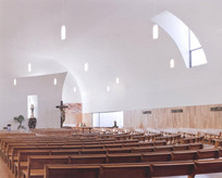 教堂建筑室内布局