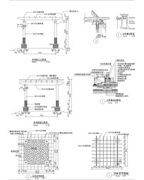 木构架凉亭