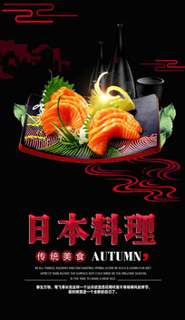 日本料理促销海报