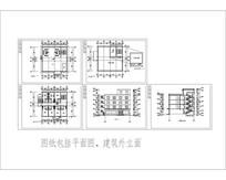 四层宾馆CAD模型 CAD
