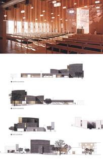 特色建筑造型内部设计