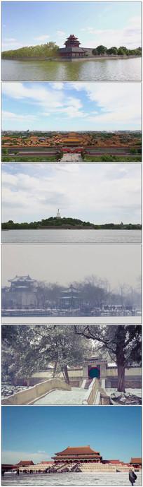 北京禁城延迟摄影视频