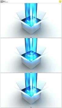 流媒体技术盒子动态视频素材