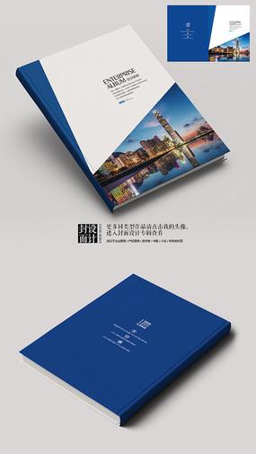 贸易公司企业画册封面设计