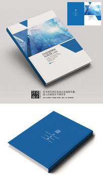 特种玻璃建筑材料宣传册封面