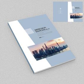 印象上海旅游文化画册封面